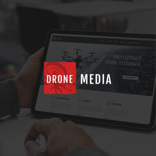 Koop een bedrijf - Drone Media concept