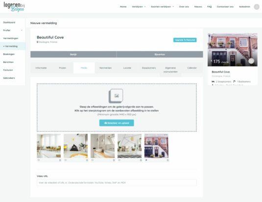 Logeren bij Belgen - Je eigen boekingssysteem